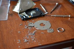150713 Destroy harddrive