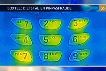 Pincode moeilijk af te lezen met infraroodcamera