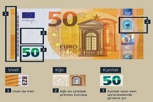 Nieuw bankbiljet van 50 euro